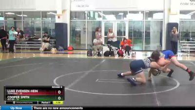 130 lbs Round 9 (10 Team) - Luke Evensen-Hein, Team Ohio vs COOPER SMITH, 922 WC