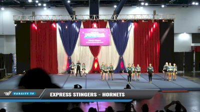 Express Stingers - Hornets [2021 L4 International Open Coed Day 1] 2021 The American Spectacular DI & DII