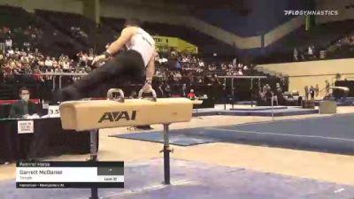 Garrett McDaniel - Pommel Horse, Temple - 2021 Men's Collegiate GymACT Championships