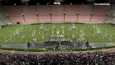 """Santa Clara Vanguard """"Santa Clara, CA"""" at 2019 DCI Drum Corps at the Rose Bowl"""