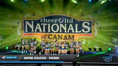 Inspire Athletics - Passion [2021 L5 Senior Day 2] 2021 Cheer Ltd Nationals at CANAM