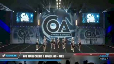 Off Main Cheer & Tumbling - Fire [2021 L3 Youth - D2 Day 1] 2021 COA: Midwest National Championship