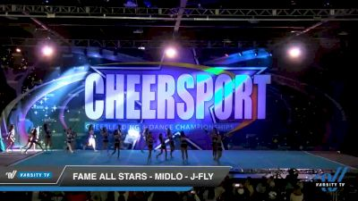 FAME All Stars - Midlo - J-Fly [2020 Junior Coed Small 6 Day 1] 2020 CHEERSPORT National Cheerleading Championship