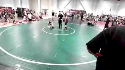91 lbs Rr Rnd 3 - Tj Anderson, Aggression vs Sam Grassman, Mat Demon WC