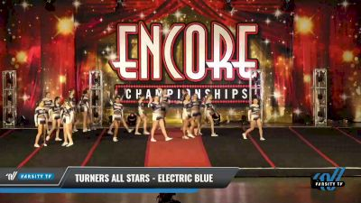 Turners All Stars - Electric Blue [2021 L5 Senior Open - D2 Day 1] 2021 Encore Championships: Pittsburgh Area DI & DII