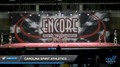 Carolina Spirit Athletics Crown 5harks [2021 L5 Junior - D2 Day 2] 2021 Encore Championships: Charlotte Area DI & DII