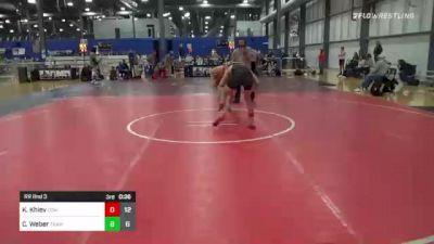 140 lbs Rr Rnd 5 - Elias Thies, Covid Cowboys vs Jacob Redington, Alber Athletics