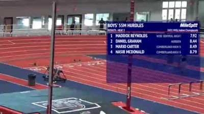 High School Boys' 55m, Finals 1