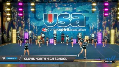 Clovis North High School [2020 Large Varsity Show Cheer Intermediate (17-20) Day 1] 2020 USA Spirit Nationals