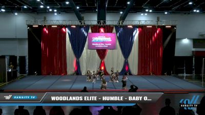 Woodlands Elite - Humble - Baby Ops [2021 L1 Exhibition (Cheer) Day 2] 2021 The American Spectacular DI & DII