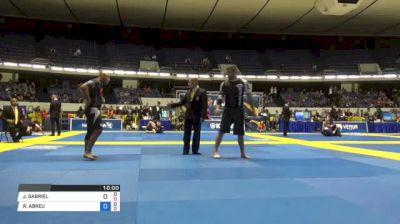 JOAO GABRIEL vs ROBERTO ABREU World IBJJF Jiu-Jitsu No-Gi Championships