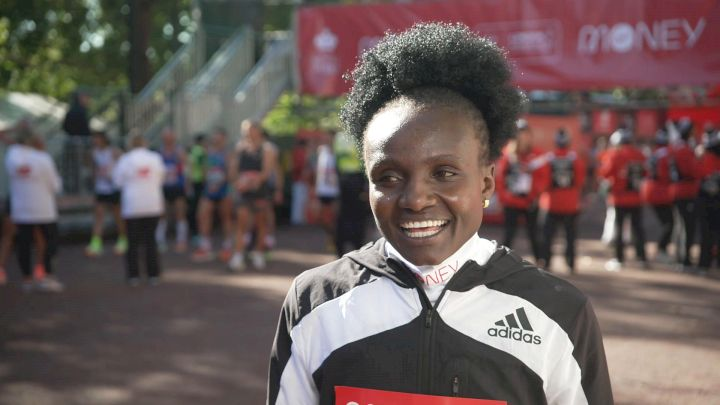 Joyciline Jepkosgei Leads The Way In London