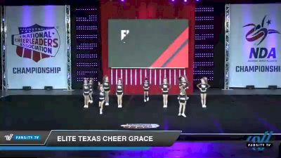 - Elite Texas Cheer Grace [2019 Youth 1 Day 1] 2019 NCA North Texas Classic