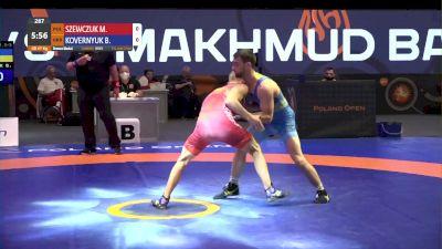 67 kg 3rd Place - Mateusz Szewczuk, POL vs Bohdan Kovernyuk, UKR