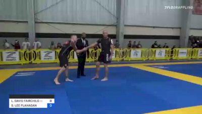 L. DAVID FAIRCHILD vs STEVEN LEE FLANAGAN 2021 Pan IBJJF Jiu-Jitsu No-Gi Championship