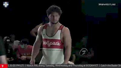 97 kg Semifinal - Michael Macchiavello, Wolfpack RTC vs Domenic Abounader, Cliff Keen Wrestling Club
