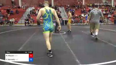 86 kg Prelims - Jack Jessen, Wildcat Wrestling Club vs Eric Vermillion, Warrior Elite Wrestling