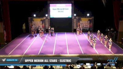 Upper Merion All Stars - Electric [2021 L2 Junior - Medium Day 2] 2021 ACDA: Reach The Beach Nationals