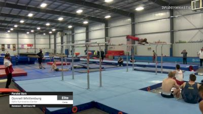 Donnell Whittenburg - Parallel Bars, Salto Gymnastics Center - 2021 April Men's Senior National Team Camp