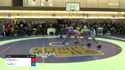 70 kg Round Of 16 - Evan Barczak, Prtc vs Ty Lydic, Griffin Wrestling Club