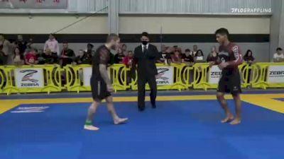 Micael Ferreira Galvao vs Shawn M. Melanson 2021 Pan IBJJF Jiu-Jitsu No-Gi Championship