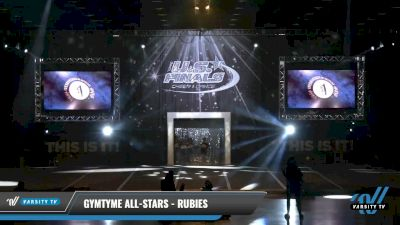 GymTyme All-Stars - Rubies [2021 L1 Tiny - Novice - Restrictions Day 1] 2021 The U.S. Finals: Louisville