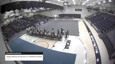 STUNT - Dallas Baptist University vs. Oklahoma State, STUNT vs. - Southwest Conference