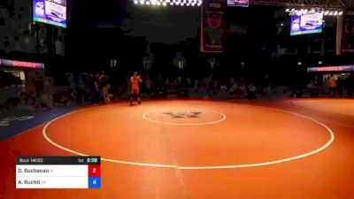 182 lbs 7th Place - Drake Buchanan, Indiana vs Asher Ruchti, Oregon
