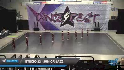 Studio 22 - Junior Jazz [2021 Junior - Prep - Jazz Day 2] 2021 Badger Championship & DanceFest Milwaukee