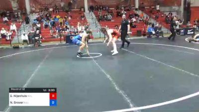 79 kg Prelims - Gerrit Nijenhuis, Boilermaker RTC vs Noah Grover, Bulls Wrestling Club