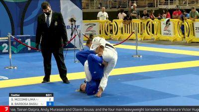 Bianca Basilio Uses Fierce Footlock in Featherweight Final