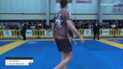 JACOB LEE COUCH vs CÁSSIO FELIPE SOUSA COSTA 2021 Pan IBJJF Jiu-Jitsu No-Gi Championship