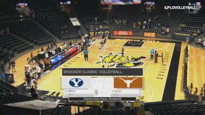 Full Replay - BYU vs Texas | 2019 Shocker Volleyball Classic