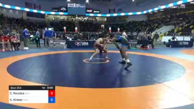 79 kg Consolation - Casey Randles, Idaho vs Krystian Kinsey, Cavalier Wrestling Club