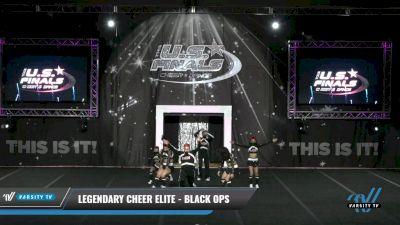 Legendary Cheer Elite - Black Ops [2021 L4.2 Senior Coed Day 1] 2021 The U.S. Finals: Grapevine