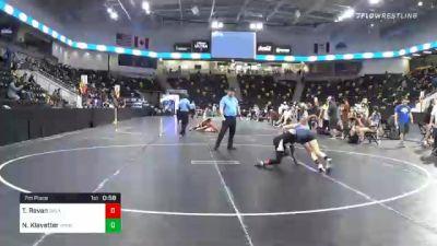 106 lbs 7th Place - Tiara Revan, Oklahoma vs Natalie Klavetter, Minnesota