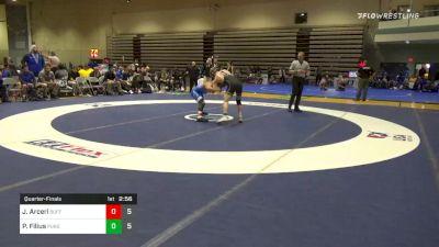Quarterfinal - John Arceri, Buffalo vs Parker Filius, Purdue