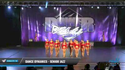 Dance Dynamics - Senior Jazz [2021 Senior - Jazz - Large Day 1] 2021 ACP Power Dance Nationals & TX State Championship