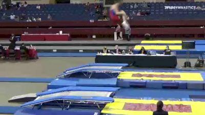 Harley  Jones  - Double Mini Trampoline, All American Gymnastics  - 2021 Region 3 T&T Championships