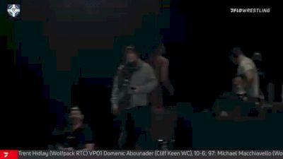 97 kg Quarterfinal - Ty Walz, NJRTC/SERTC vs Hayden Zillmer, Gopher WC