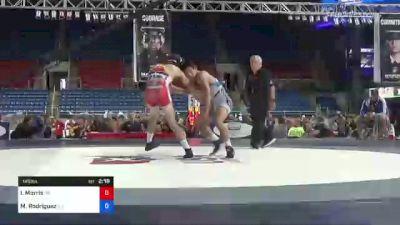 145 lbs Consolation - Ivan Morris, Colorado vs Matthew Rodriguez, California
