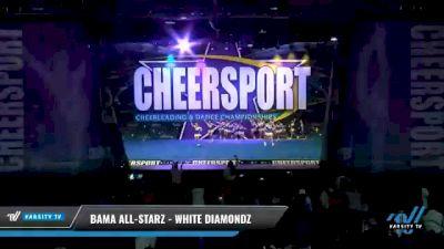 Bama All-Starz - White Diamondz [2021 L2 Youth - Small - A Day 2] 2021 CHEERSPORT National Cheerleading Championship