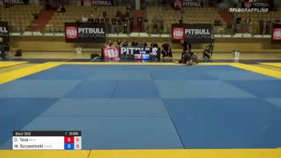 Oliver Taza vs Mateusz Szczecinski 1st ADCC European, Middle East & African Trial 2021