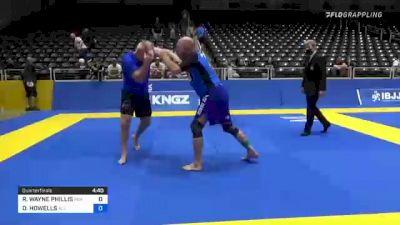 RONALD WAYNE PHILLIS vs DAVID HOWELLS 2021 World IBJJF Jiu-Jitsu No-Gi Championship