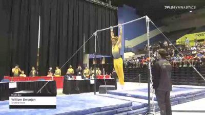 William Sweeten - High Bar, Arizona State - 2021 Men's Collegiate GymACT Championships