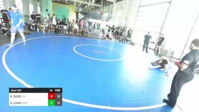 120 lbs Rr Rnd 3 - Kameron Scott, Dirty Birds vs Anthony Lucio, Rbwc