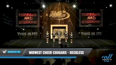 Midwest Cheer Cougars - Reckless [2021 L1.1 Junior - PREP - D2 Day 1] 2021 The U.S. Finals: Kansas City
