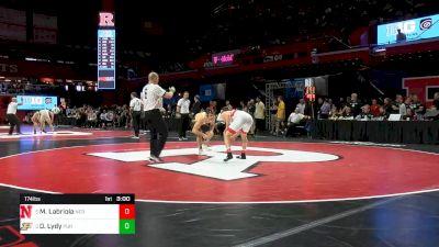 174 lbs Consolation - Mikey Labriola, Nebraska vs Dylan Lydy, Purdue
