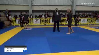 KIERAN KICHUCK vs JOHNNY TAMA 2021 Pan IBJJF Jiu-Jitsu No-Gi Championship