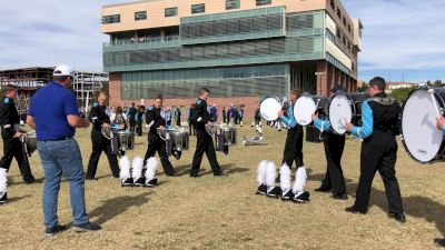 In The Lot: Sky View Drums Warm Up @ BOA Utah